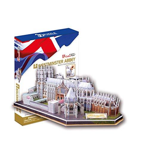 CubicFun Puzzle 3D - Westminster Abbey, London
