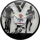 Reloj de triatlón, Fabricado en Disco de Vinilo