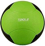 TOOLZ balón médico, balón Fitness, balón Gimnasia, balón Slam 2kg - Ideal para el Entrenamiento de Fuerza - Caucho