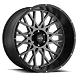 VIS-VOR 20' Inch 6x135 4 Wheel Rims Vision 412 Rocker 20X12 +12 Grey
