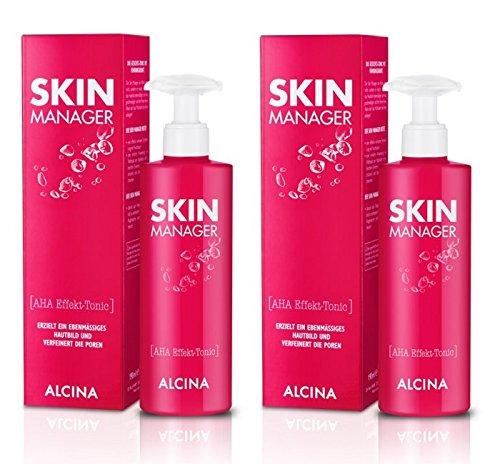 2er Skin Manager AHA Effekt Tonic pflegende Kosmetik Alcina je 190 ml = 380 ml