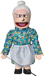 25 Granny Peach Grandmother Full Body Ventriloquist Style Puppet