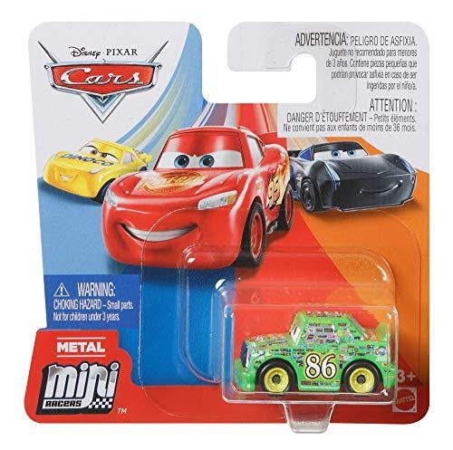 Cars Mattel Disney Pixar Metall Mini Racers 4cm Metallo (Chick Hicks)