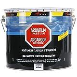 Etancheite toiture peinture résine anti fuite infiltration tuile béton fissure membrane réparation ARCAFILM - Gris - 0.75l -...