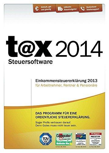 Tax 2014 (für Steuerjahr 2013)