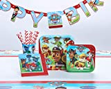 American Greetings Paw Patrol Party Supplies Bundle Pack for 8 guests, 42 pieces