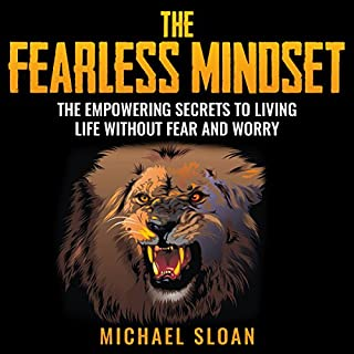 The Fearless Mindset audiobook cover art