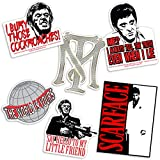 Scarface Al Pachino Collectible Stickers