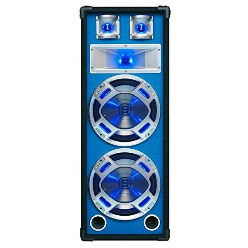Skytec PA-Lautsprecher, passiv, einfach oder doppelt, für Partys