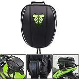 JFG RACING Borsa da sella per moto - Borsa da viaggio impermeabile Borsa da sella Borse da sella per moto Borsa da bici multifunzionale Sport-Verde