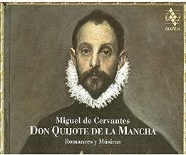 Don Quijote De La Mancha Romances Y Musicas
