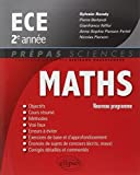 Maths ECE 2e Année Programme 2014 by Sylvain Rondy (2014-07-08) - Ellipses Market - 08/07/2014