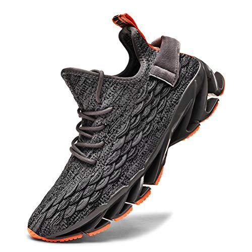 Fushiton Zapatillas de Deporte para Hombre - Zapatillas de Running Hombre Mujer Zapatillas de Tenis Zapatillas de Deporte para Caminar Transpirable Athletic Sport