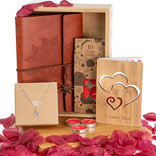 Romantic Gift Box w/ Journal & Necklace