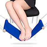 Apreen Foot Rest Stand, Adjustable Mini Foot hammock, Portable Desk Foot Stool under your office desk that you can fold-a-way