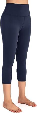 EASYSO High Waist Yoga Pants,Tummy Control Fabletics Leggings for Women,Pocket Workout Yoga Pant