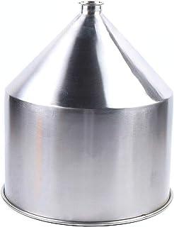 Entonnoir en acier inoxydable de 40 l - Entonnoir de remplissage industriel - Entonnoir de remplissage - Contre les acides...