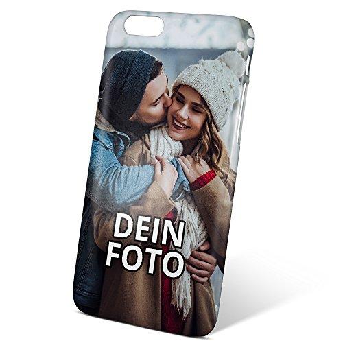 PhotoFancy ® – iPhone® 6/6s Handyhülle mit eigenem Foto bedrucken – Smartphone Case als personalisierte Schutzhülle (3D Hardcase)