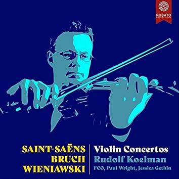 Saint-Saëns, Bruch, Wieniawski Violin Concertos (Live)