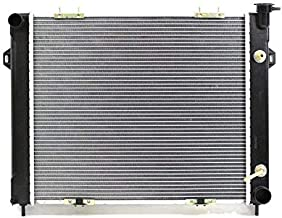 Radiator - Pacific Best Inc For/Fit 2230 93-98 Jeep Grand Cherokee Wagoneer V8 5.2/5.9L Plastic Tank Aluminum Core