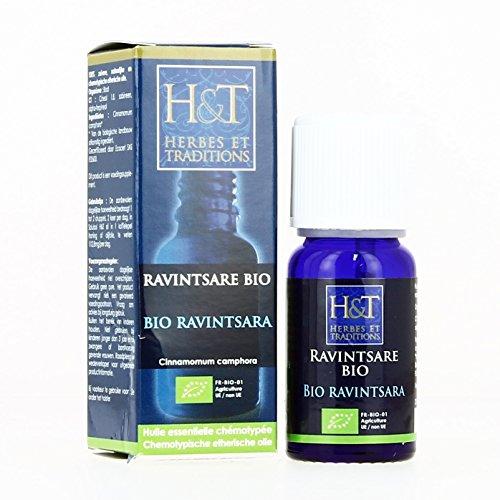 Herbes et Traditions Huile Essentielle Ravintsara Bio 10 ml