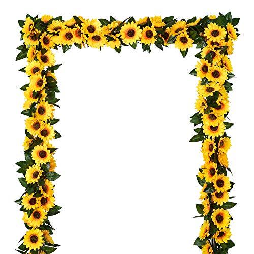 Artificial Sunflower Garland