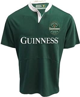 Guinness Bottle Green Performance Short Sleeve Rugby Shirt