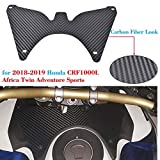 Repuestos Powersports Moto 2018 2019 CRF1000L Africa Twin Forkshield Updraft Deflector de viento Cubierta for Honda Africa Twin Deportes CRF CRF 1000L 1000L