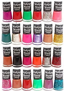 Makeup Mania Exclusive Nail Polish Set (Multicolor No.72, 84, Pack of 24)