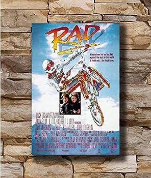 R.A.D Movie 1987 Art Poster - No Frame 24x36