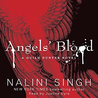 Angels' Blood     The Guild Hunter Series, Book 1              By:                                                                                                                                 Nalini Singh                               Narrated by:                                                                                                                                 Justine Eyre                      Length: 10 hrs and 29 mins     97 ratings     Overall 4.5
