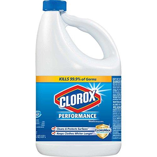 Clorox Performance Bleach, 121 Oz, Pack of 3