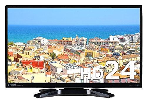 オリオン 24V型 液晶 テレビ  NHC-241B ハイビジョン 1波(地上デジタル) ブルーライトガード搭載 ブラック