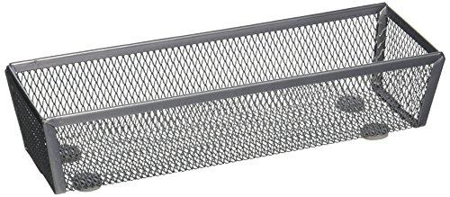 Honey-Can-Do KCH-02158 Steel Mesh Drawer Organizer, Silver