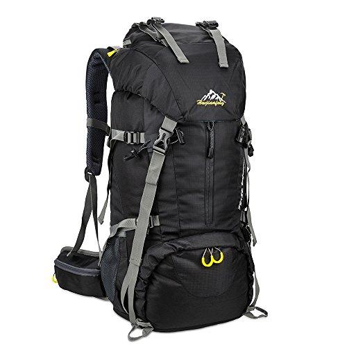 SKYSPER Wanderrucksäcke 50L Trekkingrucksäcke Wasserdicht Reiserucksack Camping Outdoor Wandern Rucksack