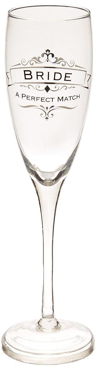 サイクロプス田舎上がるEnesco Eneso Bride Toasting Glass インシグニア 10.375インチ クリア