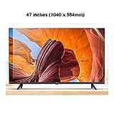 WTTO 47 Pouces TV Protecteur d'écran, Téléviseur Protège-écran Anti Lumière Bleue Anti-ÉBlouissement Filtrer Protection des Yeux pour LCD/TV et PC/moniteurs Mac,Ultra-Clear