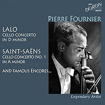 Pierre Fournier: Lalo, Saint-Saëns and Famous Encores