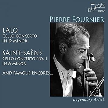 Pierre Fournier: Lalo, Saint-Saëns and Famous Encores