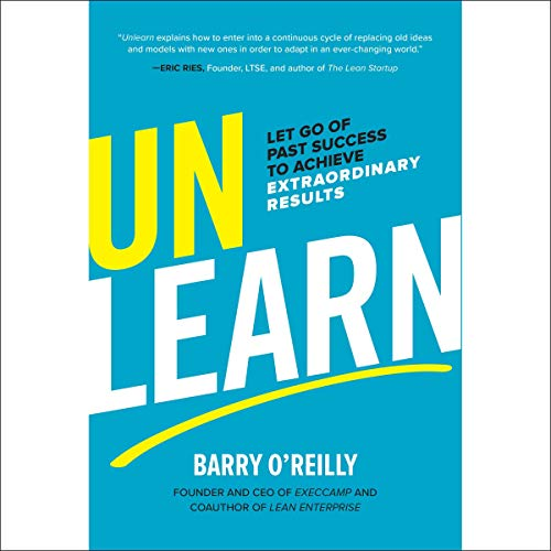 Unlearn audiobook cover art