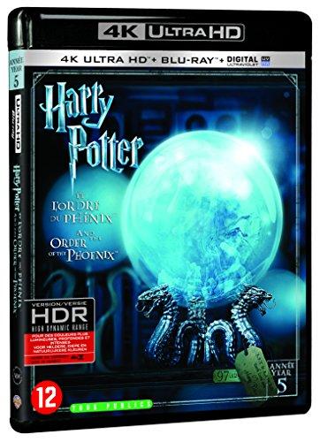 Harry Potter et l'Ordre du Phénix - Année 5 - Le monde des Sorciers de J.K. Rowling - 4K Ultra HD [4K Ultra HD + Blu-ray + Digital UltraViolet]