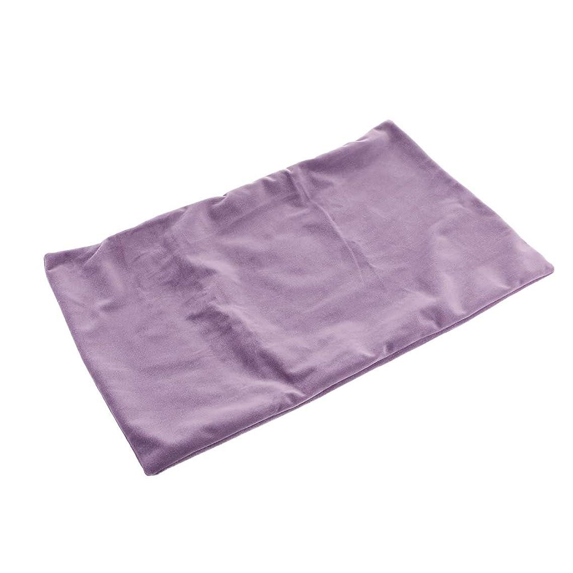 消費する櫛同種のF Fityle クッションカバー 抱き枕カバー ベルベット ソファ背当て インテリア 部屋飾り 高級感 全16色 - パープル