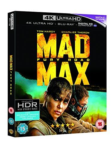 Mad Max: Fury Road (4K Ultra HD Blu-ray) [Region Free]