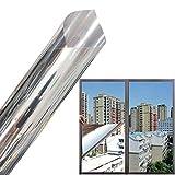 Kerta Film de protection solaire en vinyle pour vitres, isolation thermique et ombrage - Film autocollant pour la maison