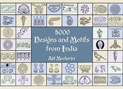 5000 Designs and Motifs from India (Dover Pictorial Archive)