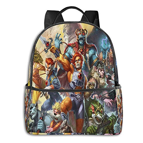 zhengdong Thundercats Multifunctional Lightweight Travel Bag Laptop Backpack-Waterproof Travel Backpack