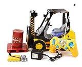 Asinean 1:14 Engineering Car Series Toys Modelo 2.4 GHz 8 Channel RC Carretillas Elevadoras Construcción Transpaletas Juguetes con Luces Sonidos para niños de 3 años en adelante
