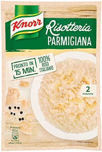 15x Knorr Risotto alla Parmigiana Reis 100% italienisch Fertiggerichte Risotto mit Parmesan 175g