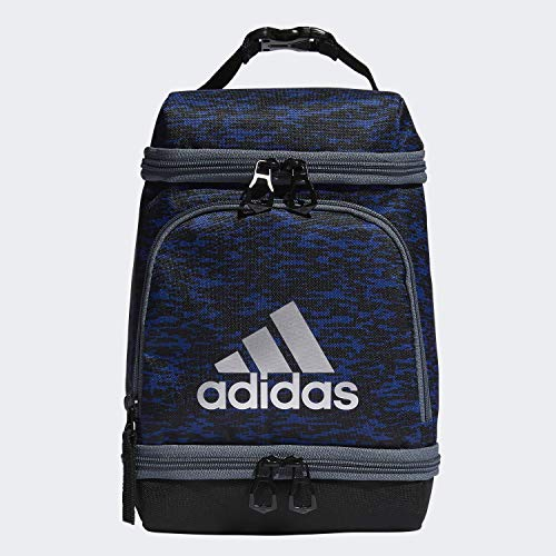 adidas Unisex Excel Insulated Lunch Bag, Collegiate Royal Bookend/Black/Onix/Silver, ONE SIZE