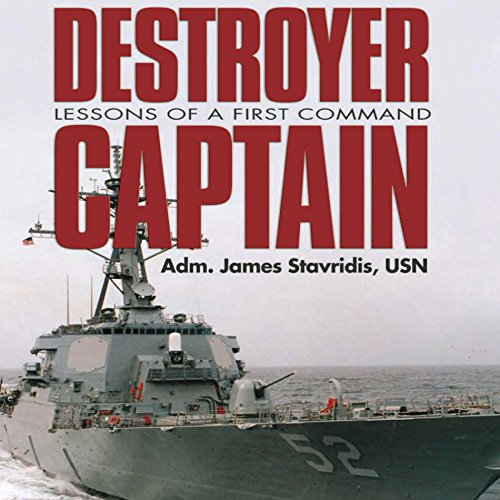 Destroyer Captain audiobook cover art